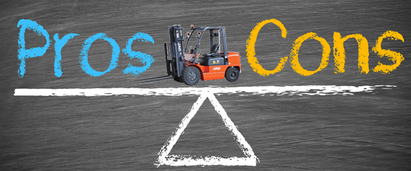 Forklift Rental Or Buying - The Pros and Cons | JAC Forklifts